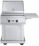 "BQC030T3 Viking 30"" Premium Stainless Steel Cart (Grill Not Included)"