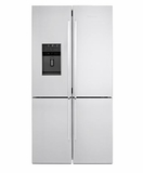 "BRFD2650SSN Blomberg 36"" 4-French Door Refrigerator/Freezer - Stainless Steel"