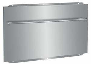 """BSB48 Superiore 48"""" Backsplash with Towel Bar - Stainless Steel"""