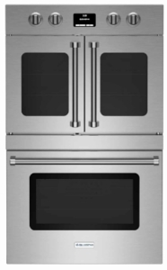 "BWODEWO30ECSDDDV2 Bluestar 30"" Single Electric Wall Oven with Infrared Broiler - Stainless Steel"