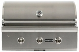"C1C34LP Coyote 34"" C-Series Liquid Propane Built-In Grill with Interior Hood Lights and 60,000 total BTU - Stainless Steel"