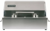 "C1EL120SM Coyote 19"" Built in Electric Grill with Ceramic Flavorizer and Safety Timer - Stainless Steel"