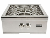 "C1PBNG Coyote 24"" Natural Gas Power Burner - Stainless Steel"