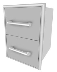 C2DC Coyote Two Drawer Cabinet