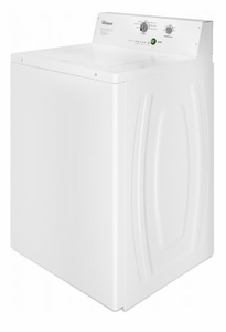 "CAE2795FQ Whirlpool 27"" 2.9 cu. ft. Commercial Top Load Washer with 4 Wash Cycles and Deep-Water Wash System - White"