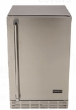 "CBIRR Coyote 21"" Right Hinge Outdoor Refrigerator with 4.1 cu. ft. Capacity and 3 Wire Shelves - Stainless Steel"
