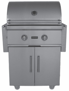 """CCX2NGFS Coyote 28"""" C-Series Pre-Assembled Outdoor Grill - Natural Gas - Stainless Steel"""