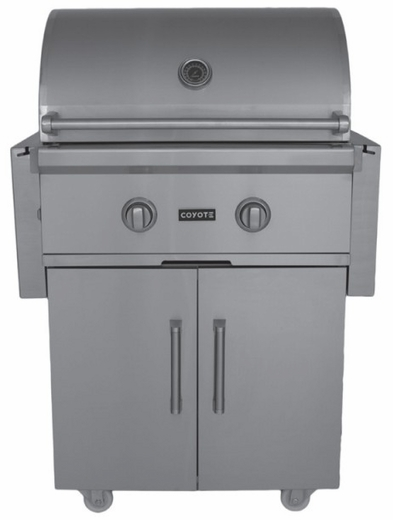 Ccx2ngfs coyote 28 c series pre assembled outdoor grill for Coyote outdoor grills