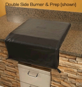 CCLSB Custom Cover for Built-in Single and Double Sideburner