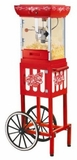 CCP399 Nostalgia Electrics Vintage Collection 48-Inch Old Fashioned Movie Time Popcorn Maker with Cart