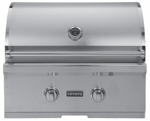 """CCX2LP Coyote 28"""" C-Series Outdoor Grill - Liquid Propane - Stainless Steel"""
