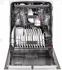 """CDT835SMJDS GE 24"""" Cafe Series Built-In Dishwasher with Stainless Steel Interior and Hidden Controls - Black Slate"""