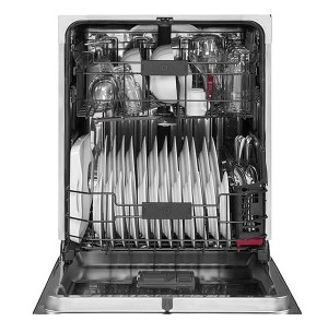 "CDT835SSJSS GE 24"" Cafe Built-In Dishwasher with Stainless Steel Interior and Hidden Controls - Stainless Steel"
