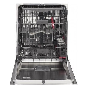 """CDT865SSJSS GE 24"""" Cafe Stainless Interior Built-In Diswasher with Hidden Controls and Hidden Vent- Stainless Steel"""