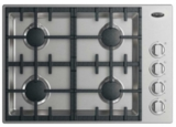"CDV2304L DCS 30"" Drop-In Cooktop with 4 Burners - Liquid Propane - Stainless Steel"