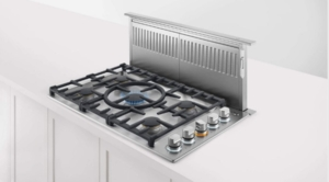 """CDV2365HLN Fisher & Paykel 36"""" Drop-In Cooktop with 5 Burners and a Halo - Liquid Propane - Stainless Steel"""