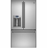 CFE28TSHSS GE Cafe Energy Star 27.8 Cu. Ft. French-Door Ice & Water Refrigerator - Stainless Steel