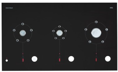 "CG363MLDNGB1 Fisher & Paykel 36"" Gas Cooktop CookSurface Deep - Black"