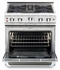 "CGSR304L Capital Culinarian Series 30"" Self-Clean Liquid Propane Range with 4 Open Burners - Stainless Steel"