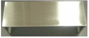 """CH0036DC12 Kobe 12"""" High Duct Cover for Range Hood CH0036SQB1 - Stainless Steel"""