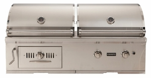 Ch50lp Coyote 50 Hybrid Gas And Charcoal Grill Liquid