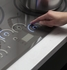 """CHP9536SJSS GE Cafe 36"""" Built In Touch Control Induction Cooktop - Gray"""