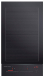 "CI122DTB2N Fisher & Paykel 12"" 4 Zone Touch&Slide Induction Cooktop with Dual Color Display - Black"