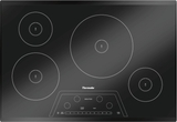 CIT304KBB Thermador 30 Inch Masterpiece Series Induction Cooktop with 4 Zones - Frameless Black