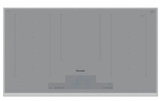 "CIT367TGS Thermador 36"" Liberty Frameless Induction Cooktop with MoveMode and HeatShift - Titanium Gray Glass with Stainless Steel Frame"