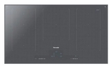 "CIT367TM Thermador 36"" Liberty Frameless Induction Cooktop with MoveMode and HeatShift - Silver Mirrored Finish"