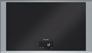 CIT36XKB Thermador 36 Inch Masterpiece Series Induction Cooktop with 5 Zones - Gray-Black Glass with Stainless Steel Frame