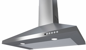 "CLAS36SS300B Faber 36"" Classica Plus Collection Canopy Wall Range Hood with 4 Speed Electronic Controls and 300 CFM Motor - Stainless Steel"