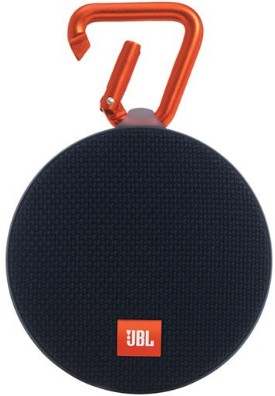 CLIP2BLK JBL Wireless Speaker with Mic For Speakerphone Calls and Built-In Rechargeable Battery - Black