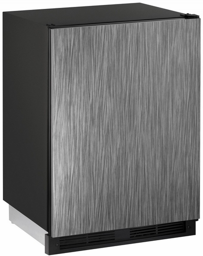 """CO1224FINT00B U-Line 1000 Series 24"""" Wide Combo Refrigerator & Ice Maker Holds up to 62 Bottles - Field Reversible - Integrated Solid Custom Panel"""