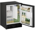 "CO29FB00A U-Line 21"" Wide ADA Series Combo Undercounter Refrigerator & Ice Maker - Field Reversible - Black"