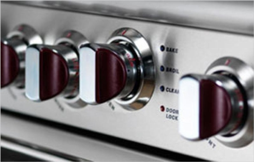 """COB362G2N Capital 36"""" Connoisseurian Dual Fuel Self-Clean Range with 4 Open Burners + 12"""" Thermo-Griddle - Natural Gas - Stainless Steel"""