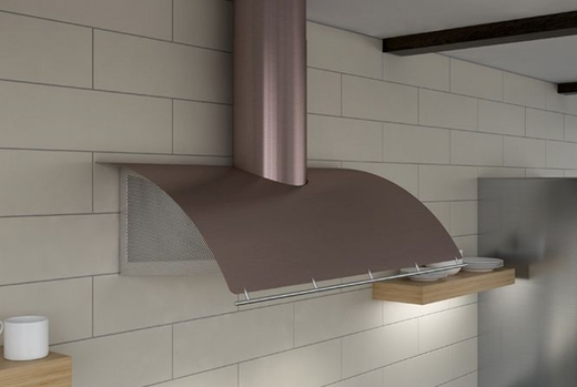 """COKE36BRGX Zephyr Cheng Collection Limited Edition Okeanito 36"""" Wall Hood - Rose Gold Stainless Steel"""