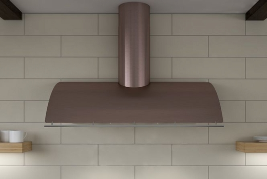 """COKE42BRGX Zephyr Cheng Collection Limited Edition Okeanito 42"""" Wall Hood - Rose Gold Stainless Steel"""