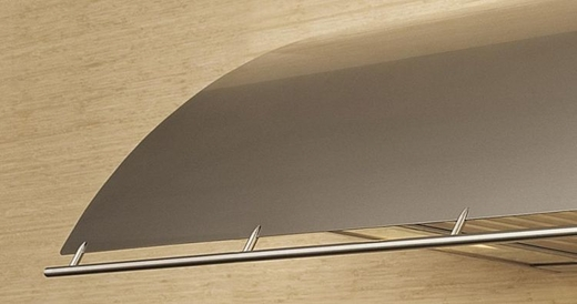"""COKE42BSX Zephyr Cheng Collection Okeanito 42"""" Wall Hood - Stainless Steel"""