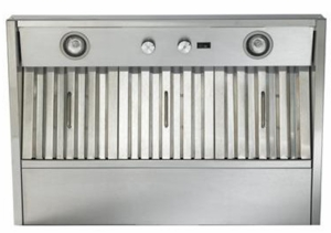 """CP34I369SB Best 35"""" Wall Mount Custom Hood Insert with 290 CFM Internal Blower and Infinite Speed Rotary Blower Control - Stainless Steel"""