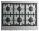 "CPV2366L DCS 36""  Professional Cooktop with 6 Burners - Liquid Propane - Stainless Steel"