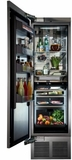 """CR24R12R Perlick 24"""" Built-In All Refrigerator Column with Four Zone Cooling and Touch Screen Control Panel - Right Hinge - Custom Panel"""
