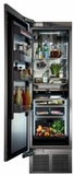 "CR24R12R Perlick 24"" Built-In All Refrigerator Column with Four Zone Cooling and Touch Screen Control Panel - Right Hinge - Custom Panel"