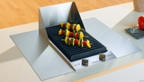 CS1312BG Miele Electric Barbecue - 208V - Stainless Steel