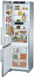 "CS1360L Liebherr 24"" Freestanding Semi-Built In Cabinet Depth Refrigerator with Icemaker - Left Hinge - Stainless Steel"