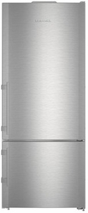 "CS1410 Liebherr 30"" Freestanding/Semi Built-In Refrigerator with DuoCooling Technology and Soft System - Right Hinge - Stainless Steel"