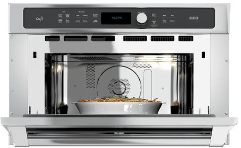"CSB9120SJSS GE Cafe 30"" Single Wall Oven with Advantium Technology - Stainless Steel"
