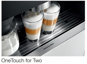 """CVA6800SS Miele 60 cm (24"""") Whole Bean Built-In Coffee System with M Touch Controls - Stainless Steel"""