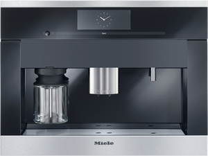 "CVA6805SS Miele 60 cm (24"") Plumbed Built-in Coffee System - Stainless Steel"