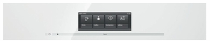 """CVA6805WH Miele 60 cm (24"""") Plumbed Built-in Coffee System - Brilliant White"""